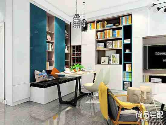 书房客房一体化装修怎么弄