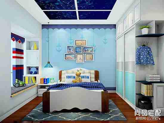 美式儿童房设计怎么弄