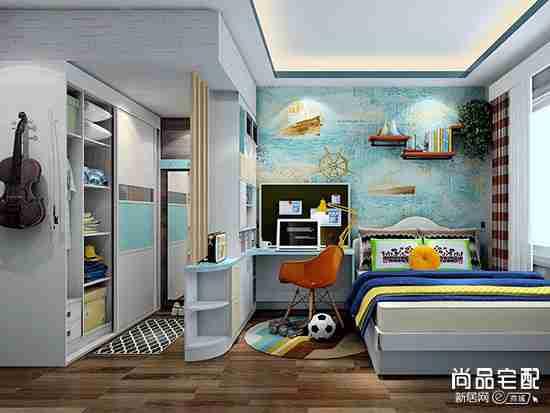 室内儿童房间设计图 设计时要注意什么