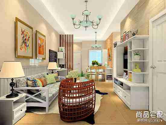 客厅对着卧室怎样装修设计