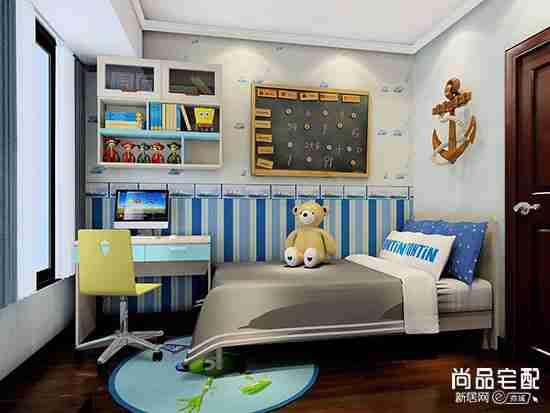 广州装修儿童房效果图