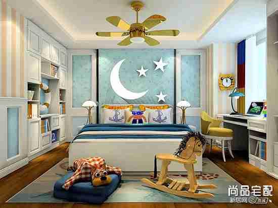 简美儿童房装修效果图欣赏