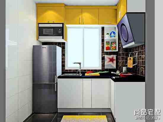 厨房墙壁砖装修效果图欣赏