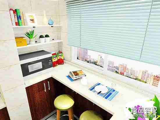 小户型开放式厨房吧台有哪些种类