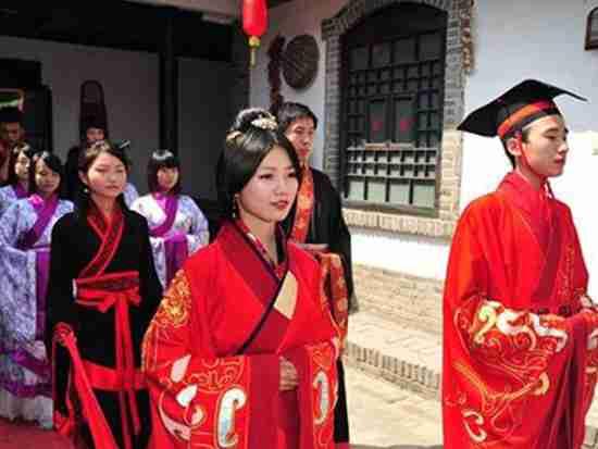 汉式婚礼礼仪有哪些