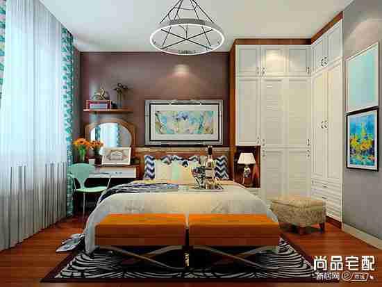 中式卧室墙纸好看吗