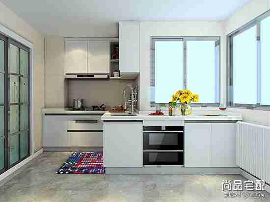 家庭厨房橱柜装修图片
