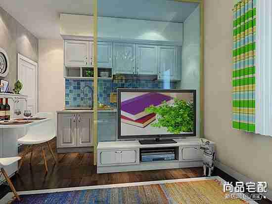 走道式厨房装修效果图欣赏