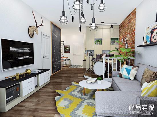 木地板墙纸搭配有哪些套路?