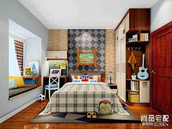 液体壁纸儿童房效果图欣赏