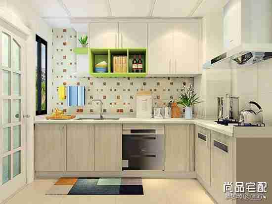 高级灰厨房装修效果图欣赏