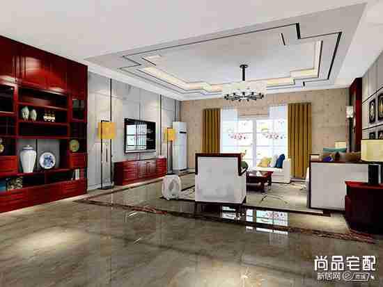 布艺沙发搭配中式茶几好不好