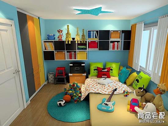 儿童房地毯图片欣赏