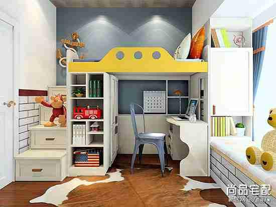 现代简约儿童房图片欣赏
