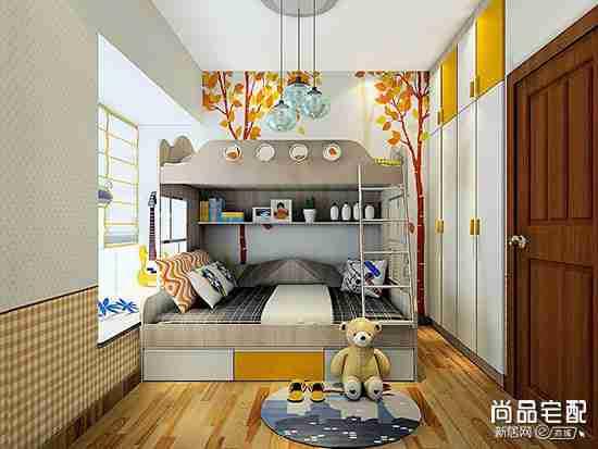 双人儿童房间装修风格哪种好