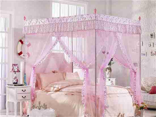 床上挂蚊帐好吗