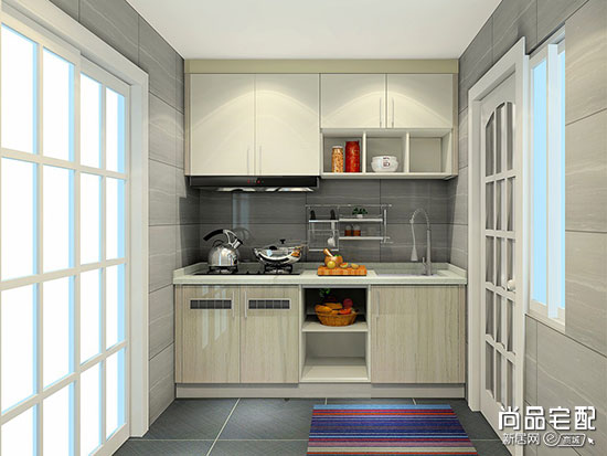 超小厨房装修图片三:一体化设计图片