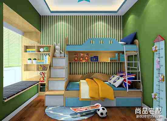 高低儿童房装修效果图欣赏