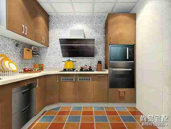 整体厨房固定餐椅设计图片