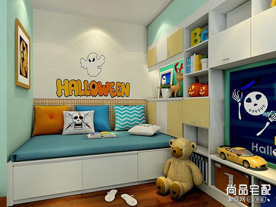 儿童卧室榻榻米