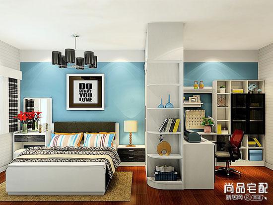 现代卧室装修风格效果图