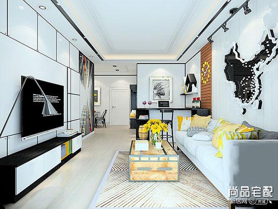现代装修风格客厅