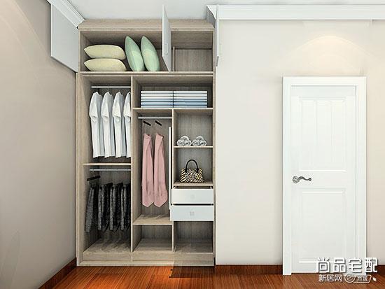 实木颗粒板衣柜多少钱一平方