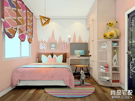 2019最新小户型长方形儿童房装修图