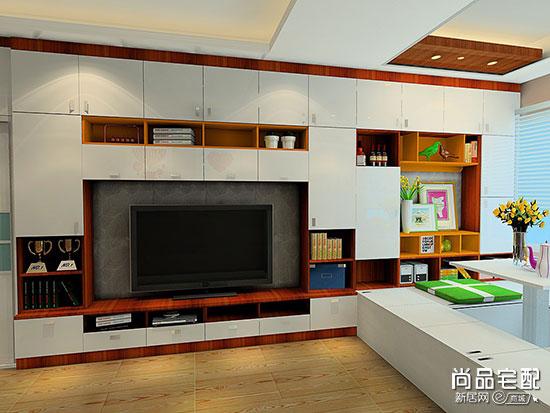 简约风格客厅电视背景墙