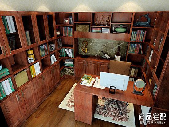 古典书房装修