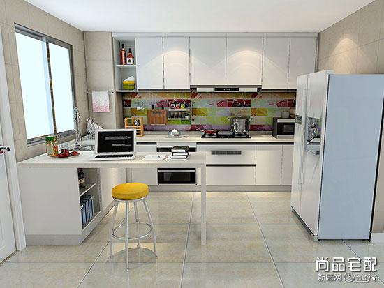 奢华厨房装修效果图