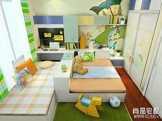 儿童房设计榻榻米